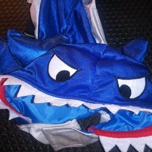 Shark Pet Dog Costume Size Small